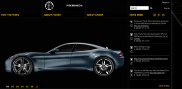 Automotive Media Website