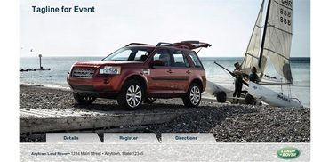 Land Rover Event Generator