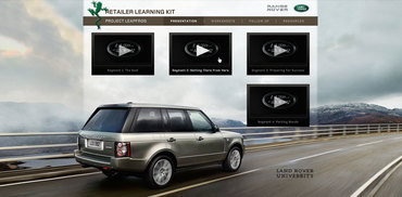 Land Rover Project Leapfrog Training CD